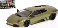 2006 LAMBORGHINI MURCIELAGO LP 640 in GREEN METALLIC Diecast Model Car in 1:43 Scale by Minichamps