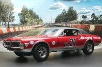 1967 Mercury Cougar Racing #21 Marty Beaulieu in 1:18 scale by Sun Star