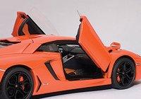 Lamborghini Aventador LP700-4, Arancio Argos/Metallic Orange Model Car in 1:43 Scale by AUTOart