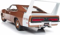 1969 Dodge Daytona Charger Bronze in 1:18 Scale by Auto World