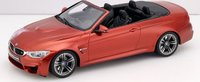 2015 BMW M4 (F83) Cabriolet in Orange Resin Model  Car in 1:18 scale by GT Spirit