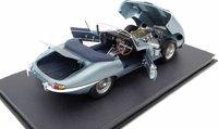 Jaguar E-type Series 1 3.8 Roadster Model Car in 1:8 Scale by Amalgam