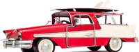 1957 Ford Country Squire Station Wagon Red by Old Modern Handicrafts