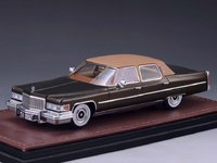 1976 Cadillac Fleetwood Brougham Chesterfield Brown in 1:43 Scale by GLM