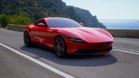 Ferrari Roma in Rossa Corsa in 1:18 Scale by BBR