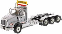International HX620 Day Cab Tridem Tractor Light Grey in 1:50 scale by Diecast Masters