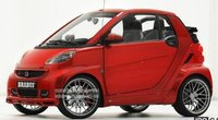 BRABUS ULTIMATE 120 (SMART CABRIOLET) - RED Resin Model Car in 1:43 Scale by Minichamps