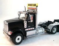 International HX520 Tandem Tractor with XL 120 Trailer by Diecast Masters in 1:50 Scale