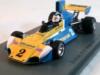 Brabham BT42 No.2  Oulton Park Gold Cup GP 1976 Winner in 1:43 Scale by Spark