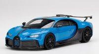 Bugatti Chiron Pur Sport Agile Blu in 1:18 scale by Topspeed