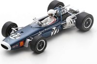 BRABHAM BT11 NO.22 SOUTH AFRICAN GP 1968 DAVE CHARLTON in 1:43 scale by Spark