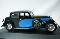 1935 Bugatti Type 57 Galibier Model Car in 1:43 Scale by IXO