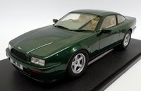 1988 Aston Martin Virage in Metallic Green Resind Model in 1:18 Scale by Cult Models