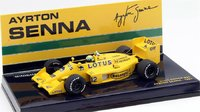 1987 Lotus 99T Ayrton Senna Resin Model Car in 1:43 Scale by Minichamps