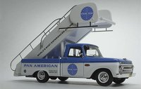 Ford F-100 Pan Am International Airport Stairs Truck by Goldvarg Collection