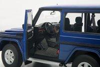 1998 Mercedes-Benz G500 SWB in Blue in 1:18 Scale by AUTOart