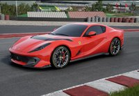 Ferrari 812 Competizione With Horizontal Silver Nurburgring Stripe in 1:18 scale by BBR