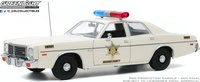 1975 Dodge Coronet - Hazzard County Sheriff  in 1:18 scale by Greenlight