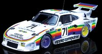 PORSCHE 935 K3 APPLE COMPUTER LE MANS 1980 in 1:18 scale by Top Marques