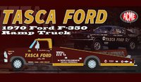 1970 FORD F-350 RAMP TRUCK TASCA FORD in 1:18 scale by Acme