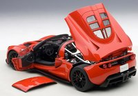 Hennessey Venom GT Spyder in Red Model Car in 1:18 Scale by AUTOart