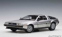 Delorean DMC-12 Painted in Satin Finish by Auto Art in 1:18 Scale