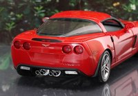2006 Corvette Z06 in Victory Red by The Franklin Mint in 1:24 Scale.  LAST PIECE Limited Edition of 505 Pieces