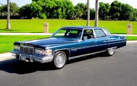 1976 Cadillac Fleetwood Brougham Blue in 1:43 Scale by GIM