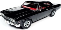 1966 Chevrolet Biscayne 2-Door Coupe (NICKEY) in 1:18 scale by Auto World
