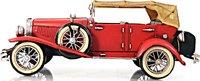1933 Red Duesenberg J in 1:12 scale by Old Modern Handicrafts