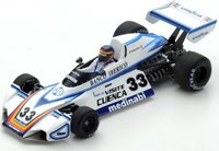 Brabham BT44B No.33  Practice Spanish GP 1976 in 1:43 Scale by Spark