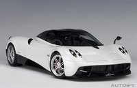 Pagani Huayra in White in 1:12 Scale by AUTOart