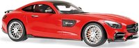 2016 Brabus 600 AUF Basis Mercedes-Benz GT S  Diecast Model in 1:18 Scale by Minichamps