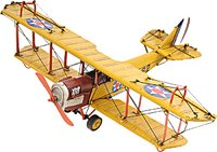 1918 Yellow Curtiss JN-4 1:24 Scale by Old Modern Handicrafts