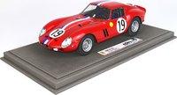 Ferrari 250 GTO 24H Le Mans 1962 SN 3705 GT in 1:18 scale by BBR