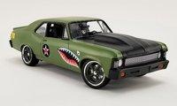 1970 Chevrolet Nova Street Fighter Warhawk in 1:18 Scale by GMP