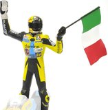 Figurine Riding Valentino Rossi, GP 125 - 1996 in 1:12 Scale by Minichamps
