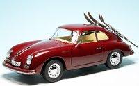 Porsche 356A Ski Holidays in 1:18 Scale by Schuco