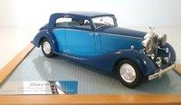 1937 Rolls Royce Phantom III Vesters & Neirinck Coupe Model Car in 1:43 Scale by Ilario