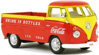 1962 Volkswagen Pickup Orange and Yellow in 1:43 scale by Motor City Classics