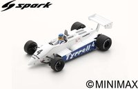 Tyrrell 011 No.4  South African GP 1982  Slim Borgudd in 1:43 scale by Spark