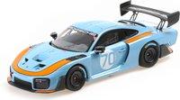 2020 Porsche 935/19 Blue in 1:18 Scale by Minichamps