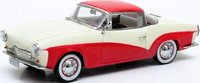1959 VolksWagen Rometsch Lawrence Coupe in Red/White Diecast Model Car in 1:43 Scale by Matrix