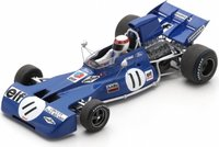 Tyrrell 003 No.11 Winner French GP 1971 Jackie Stewart in 1:43 scale by Spark