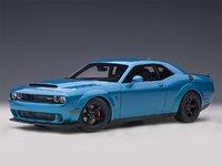 Dodge Challenger Demon SRT B5 Blue Pearl Coat in 1:18 Scale by AUTOart