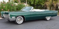 1968 Cadillac Coupe DeVille Green in 1:43 Scale by GIM
