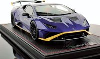 Lamborghini Huracan STO Viola Pasifae in 1:18 Scale by MR Collection