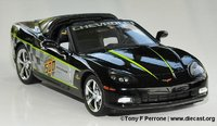 2008 Corvette LS3 Indy 500 Pace Car Coupe by The Franklin Mint in 1:24 Scale