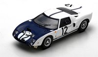 1964 Ford GT40 #12 at Le Mans  by Spark in 1:43 Scale
