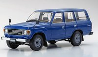 Toyota Land Cruiser 60 Blue in 1:18 Scale by Kyosho